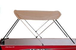 2 BowBoat Bimini Top