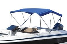 3 BowBoat Bimini Top