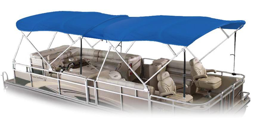 dual pontoon lt blue